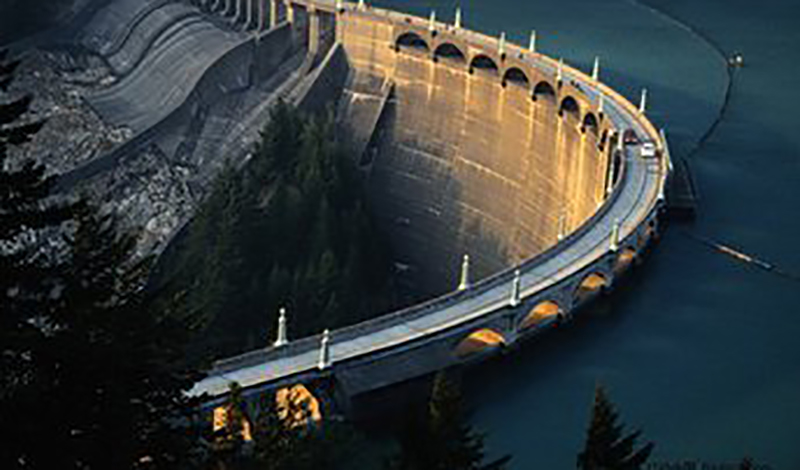 Canadian hydropower station